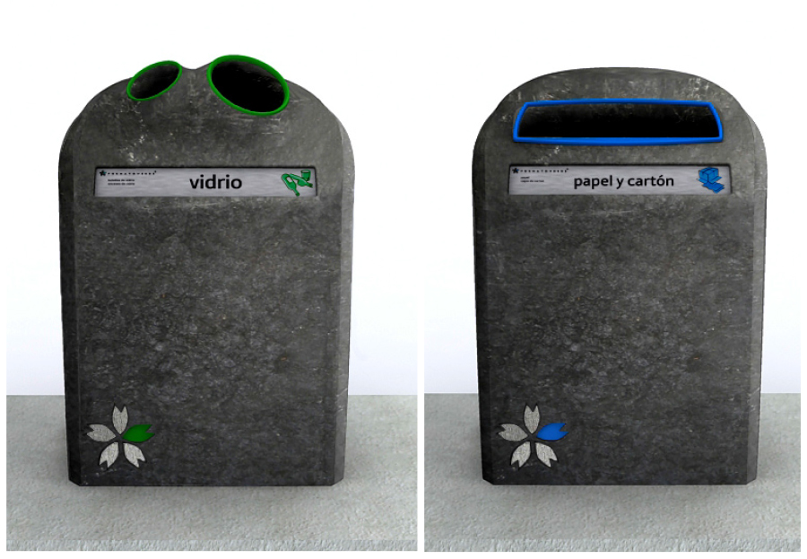 100% recycled plastic dumpsters